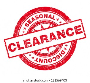 Rubber Stamp Clearance