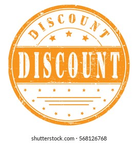 "Rubber stamp ""discount"", bitmap"