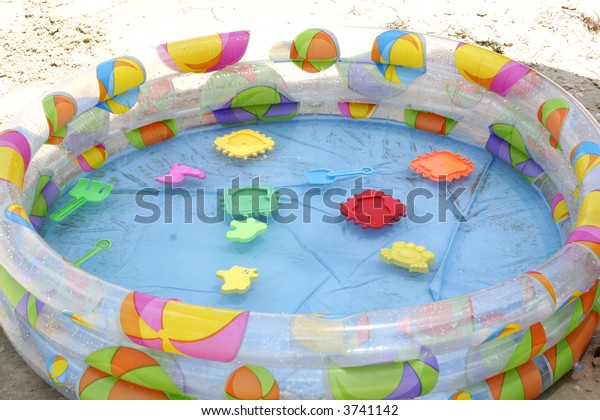 Rubber Swimming Pool Stock Photo (Edit Now) 3741142