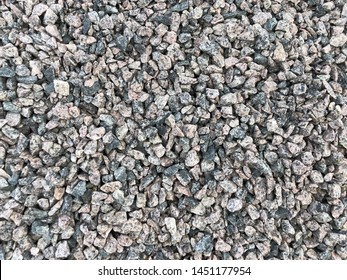 Rubble texture for design. Background - rubble, with space for text or image. Stone texture background, granite, marble