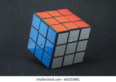 Rubik's Cube is a combination puzzle invented in by Hungarian sculptor and professor of architecture. Originally called the Magic Cube