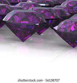 Ruby. Jewelry background