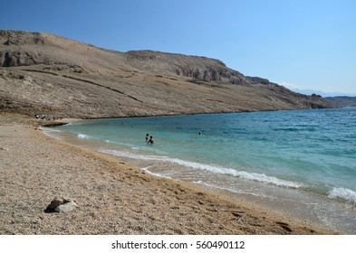 Rucica Beach near Metajna - Pag Island - Croatia