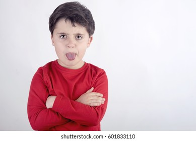 Rude child
