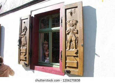 Rudesheim Germany and Niederwalddenkmal Historic site