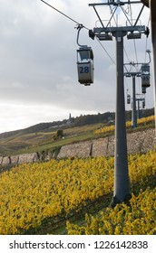 The Rudesheim am Rhein cable car germany