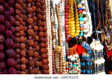 Rudraksh chain typically used by hindhu sadhus.