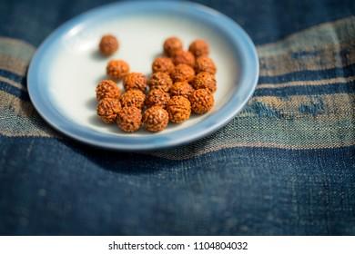 Rudraksha mala beads