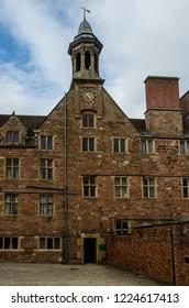 Rufford Abbey building in Rufford Park, Nottinghamshire