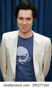 """Rufus Wainwright attends the World Premiere of """"Meet The Robinsons"""" held at the El Capitan Theater in Hollywood, California on March 25, 2007."""
