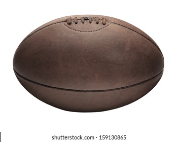 Rugby Ball White