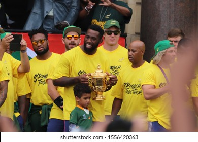 Rugby World Cup Celebrations in Cape Town (Cape Town, South Africa, 11/11/2019)