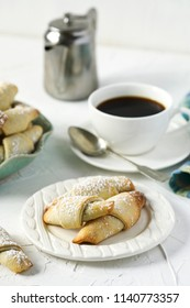 Rugelach with chocolate filling