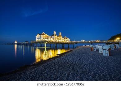 Rugen Island Summer Waters Beach zellin. High quality photo