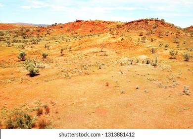 Rugged Australian Pilbara landscape