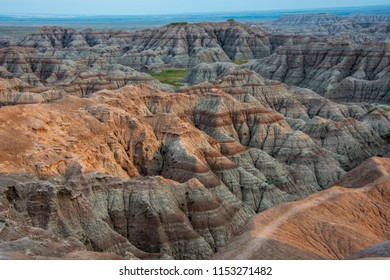 The rugged beauty of the geologic formations in the Badlands National Park of South Dakota, draws visitors from around the world. These formations also contain the richest fossil beds in the world.