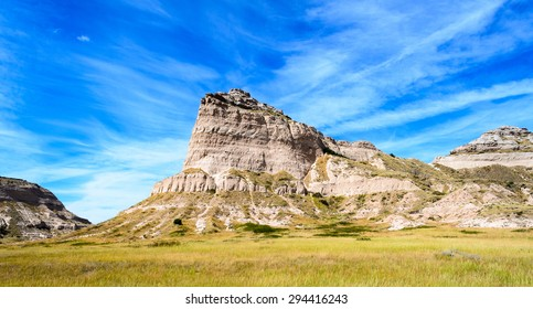 Rugged Butte at Scotts Bluff National Monument