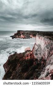 Rugged Coastline Along the Great Ocean Road, Victoria, Australia