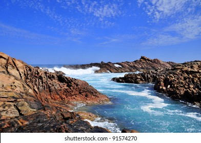 Rugged Coastline of Australia's South West Coast, Canal Rocks