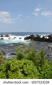 Rugged coastline of the Big Island, Hawaii