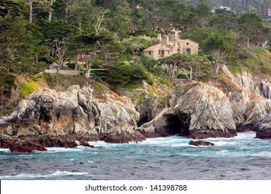 Rugged coastline, Carmel Highlands, California