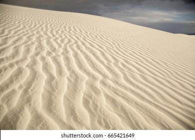 Rugged Desert Sand Dunes