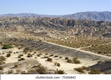 Rugged Indio Hills in the Coachella Valley, California