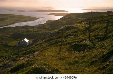 Rugged Irish Coastline