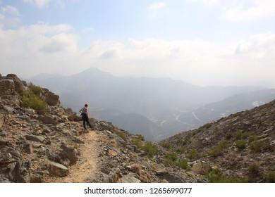 Rugged landscape of Ras Al Khaimah
