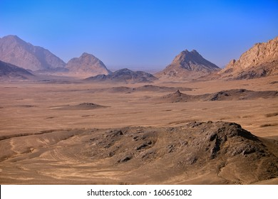 The rugged mountains of Kandahar Province, Afghanistan.