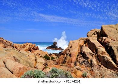 Rugged Western Australian Coastline