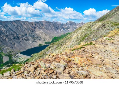 Rugged Wilderness on Mount Quandry in Colorado