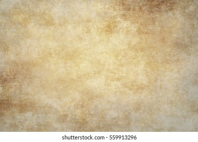 Rugged wrinkled gold paper background