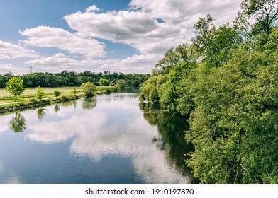 Ruhr River - Essen, NRW, Germany