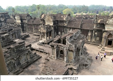 Ruin. Ancient city of Angkor. Cambodia.