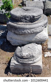ruin of ancient empire of greek