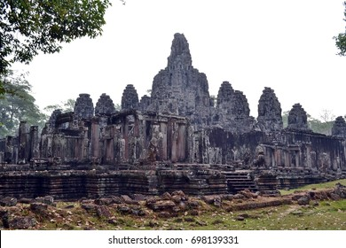 Ruin. Ancient Temple of Angkor. Cambodia.