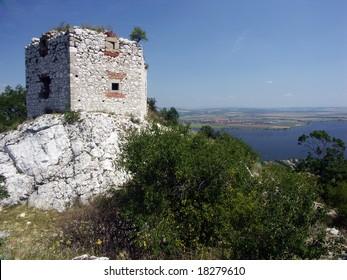 ruin in Czech republic