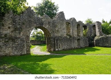 Ruin Honburg in tuttlingen