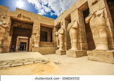 Ruin of Karnak Temple, Luxor, Egypt