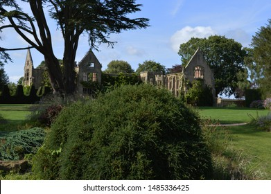 A ruin of a large country house