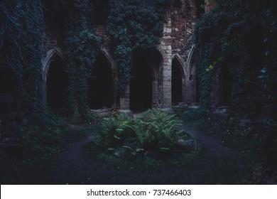 Ruin of monastery
