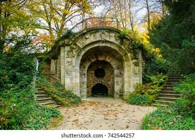 Ruin in a park in Bayreuth