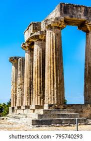 a ruin temple in greece