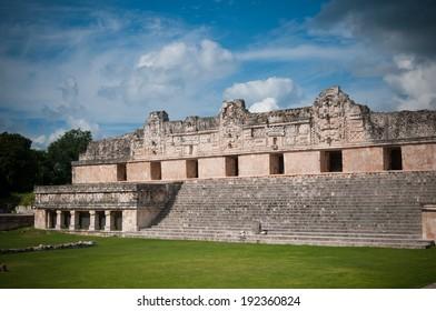 A ruin in Uxmal