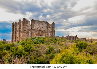 A ruined ancient city in Turkey