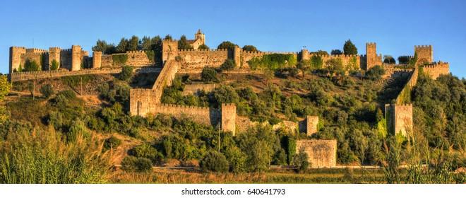 Ruined castle of Montemor-o-Velho, Portugal