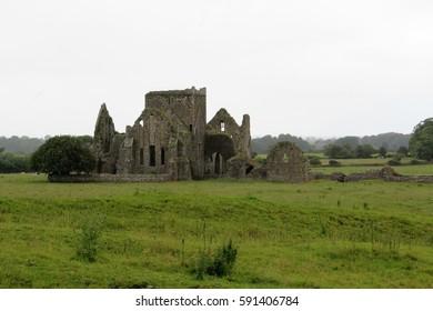 ruined Cistercian monastery Hore Abbey Cashel Tipperary Ireland