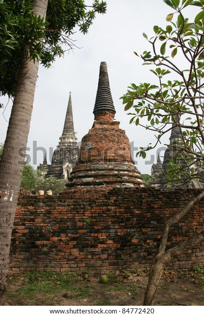 Ruined Old Temple of Ayutthaya