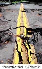 Ruined Road Destruction